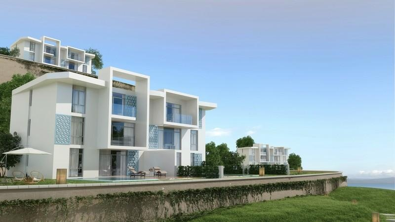 Chalet with lagoon view in Il Monte Galala Sokhna resale