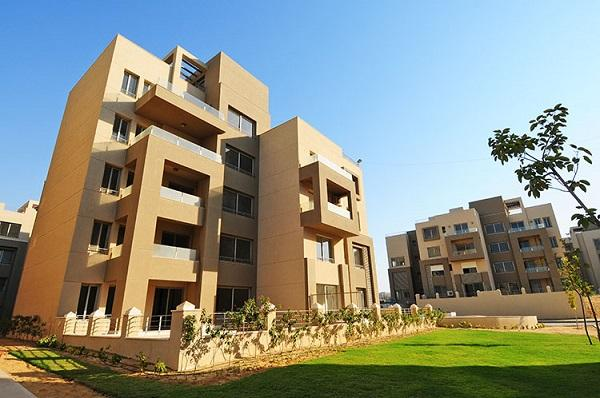 Village Gate resale studio 88 meters in New Cairo on north direction