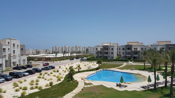Amwaj Sabbour for rent chalet 2 BR in North Coast
