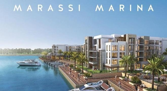 Chalet semi furnished in Marassi Marina for sale with installments