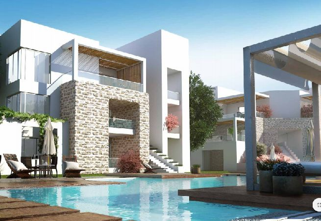 Chalet at azha in Ain El Sokhna for sale super lux