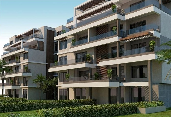 capital garden flat with private garden in Mostakbal city