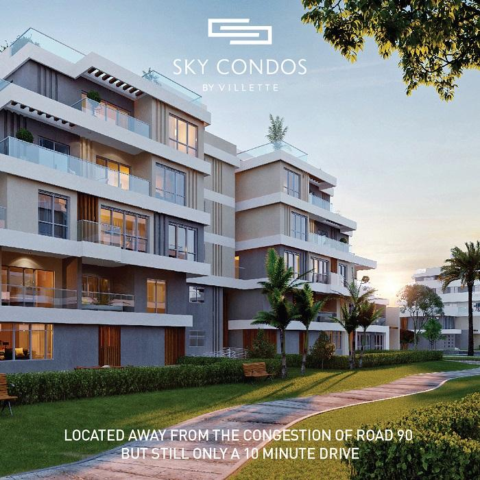 Sodic projects villette compound sky condos phase apartment for sale