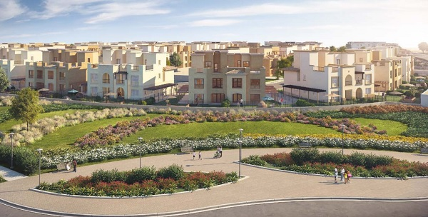 Mivida Emaar Townhouse with Installments Resale Overlooking Landscape