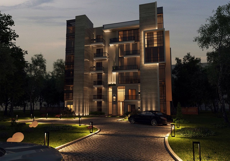 Compound Sun capital in 6th of October city luxury apartment for sale