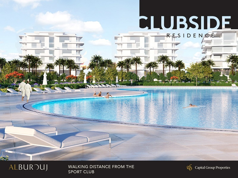 Apartments Luxury finishing for sale - at compound Al Burouj